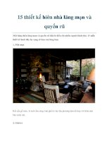 15 thiết kế hiên nhà lãng mạn và quyến rũ pdf