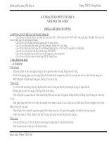 Kế hoạch bộ môn tin học 6