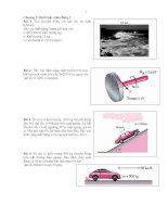 Bài tập nhiệt động lực học docx