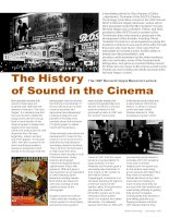 The History of Sound in the Cinema pot