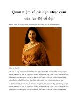 Quan niệm về cái đẹp nhục cảm của Ấn Độ cổ đại doc