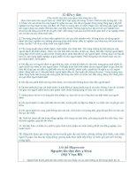 12 điều y đức Tiêu chuẩn đạo đức của người làm công tác y tế doc