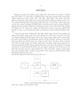 Luận văn Thạc sỹ: Thiết kế hệ thống điều khiển đồng bộ dựa trên điều khiển mờ Fuzzy và mạng Neuron pptx