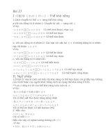 TIẾNG NHẬT THEO TỪNG BÀI - bài 27