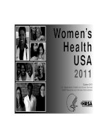 Women's Health USA 2011 Health Resources and Services Administration docx