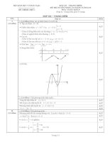 đáp án đề thi cao đẳng môn toán năm 2010 khối b