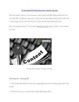 33 thủ thuật để Marketing cho website của bạn docx