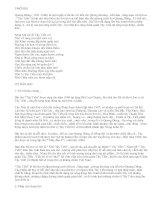 Cảm nhận về đoạn thơ đầu của bài Tây Tiến - văn mẫu