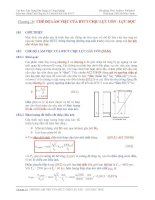 Tài liệu cao học - kết cấu bê tông cốt thép chương 10