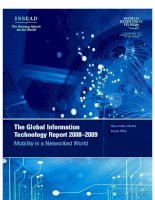 global information technology report 2008 2009 pdf