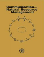 Communication and Natural Resource Management pdf