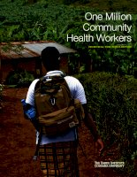 One Million Community Health Workers doc