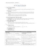 giáo án bài cực trị hàm số - toán 12 - gv.ng. lan may