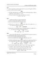 Bài tập xác suất giải chi tiết (miễn phí )