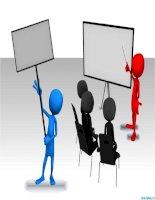 hình người 3d thuyết trình, 3d speaking man clipart