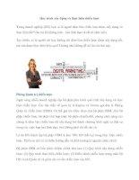 Quy trình xây dựng và thực hiện chiến lược pdf