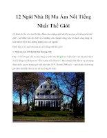 12 Ngôi Nhà Bị Ma Ám Nổi Tiếng Nhất Thế Giới pptx