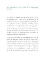 Nghệ thuật nhiếp ảnh Việt Nam có phải nhờ đến Trịnh Cung lột xác không? pdf