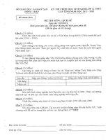 Đề thi HSG THPT lớp 12 Tỉnh Đồng Tháp môn Sử năm 2013 doc
