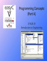 Programming Concepts (Part A) ENGR 10 Introduction to Engineering pot