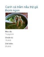 Canh cá trắm nấu thịt gà thơm ngon docx