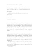 CAN AESTHETIC THEORIES OF ART BE RESCUED FROM THE PROBLEM OF AVANT-GARDE AND OTHER NON-PERCEPTUAL ARTWORKS? – AN EXPLORATION OF NON-PERCEPTUAL AESTHETIC PROPERTIES pdf