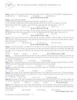 TÝNH OXI HO¸ CñA ION NO3- TRONG MÔI TRƯỜNG AXIT (H+) ppt