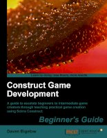 .Construct Game DevelopmentBeginner''''s GuideA guide to escalate beginners to intermediate game ppt