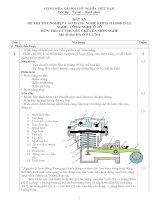 đáp án đề thi lý thuyết khóa 2 - công nghệ ôtô - mã đề thi oto - lt (4)