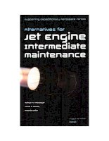 Supporting Expeditionary Aerospace Forces - Alternatives for Jet Engine Intermediate Maintenance potx