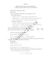 Phần 10: Phương pháp giải toán về thấu kính và hệ quang học đồng trục với thấu kính pdf