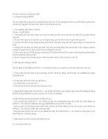 Bộ đề thi tuyển dụng nhân viên kế toán tại ngân hàng Vietinbank