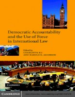 Democratic Accountability and the Use of Force in International Law docx
