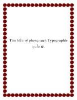 Tìm hiểu về phong cách Typographic quốc tế docx