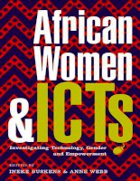 african women and icts creating new spaces with technology potx