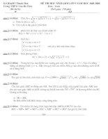 đề thi môn toán học sinh giỏi lớp 9 năm 2005 -2006 tỉnh thanh hóa