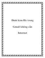 Đính kèm file trong Gmail không cần Internet doc