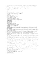 HỘI THẢO QUỐC GIA VỀ XU HƯỚNG MỚI TRONG KỸ THUẬT pdf