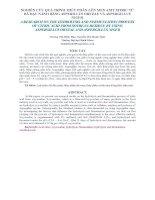 NGHIÊN CỨU QUÁ TRÌNH THỦY PHÂN-LÊN MEN AXIT XITRIC TỪ BÃ ĐẬU NÀNH BẰNG ASPERILLUS ORYZAE VÀ ASPERGILLUS NIGER pot