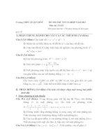Đề Thi Thử Đại Học Toán 2013 - Đề 41 docx