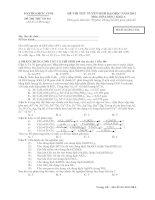 DAYHOAHOC.COMĐỀ THI THỬ SỐ 001 (Đề thi có 08 trang)ĐỀ THI THỬ TUYỂN SINH ĐẠI HỌC NĂM 2012 Môn: HÓA HỌC; Khối A Thời gian làm bài: 90 phút, không kể thời gian phát đềMã đề thi 2012 00AHọ, tên thí sinh:…………………………………………………… Số báo danh:………………………………………… pdf