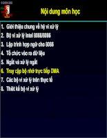 Truy cập bộ nhớ trực tiếp DMA part 6