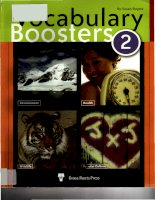 vocabulary boosters 2