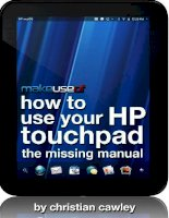 How To Use Your HP Touchpad: The Missing Manual