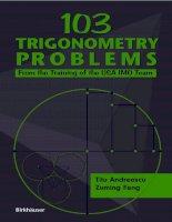 103 trigonometry problems   titu andreescu & zuming feng