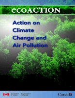Action on Climate Change and Air Pollution pptx