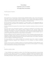 World Bank Guidelines on the Treatment of Foreign Direct Investment docx