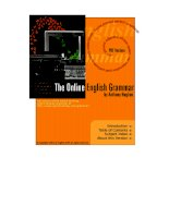 THE ONLINE ENGLISH GRAMMAR BY ANTHONY HUGHES pdf
