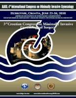 3rd Croatian Congress on Minimally Invasive Gynecological Surgery pdf