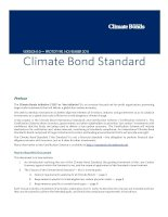 VERSION 1.0 — PROTOTYPE. NOVEMBER 2011: Climate Bond Standard doc